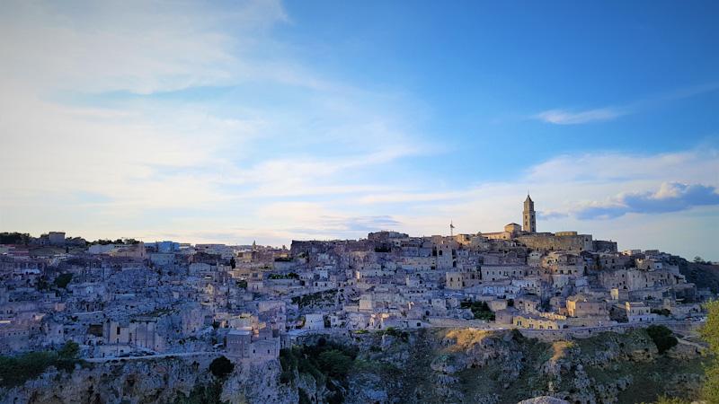 Da Salerno a Matera